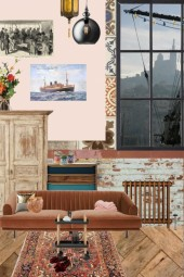 the bohemian flat by the harbour