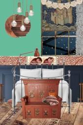 The modern fairytale: Bedroom
