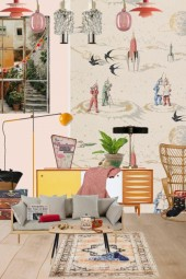 Ease at the atomic age inspired home
