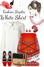 Basic white shirt