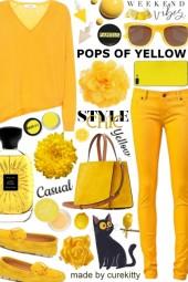 Volume II: Pops of Yellow - Weekend Vibes!