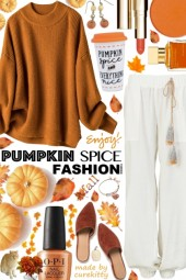 Pumpkin Spice and Everything Nice Fashion Trend!