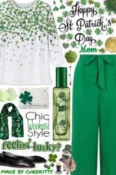 Happy Saint Patrick's Day Mom!
