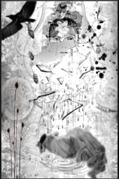 Abstract: Shattered Dreams(Black & White)