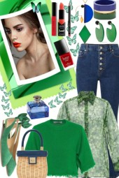 Be seen in Green