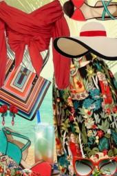 Frida's Park Night Skirt