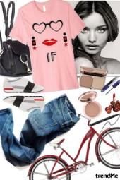 Invisible Fashionista Love Tshirt Set