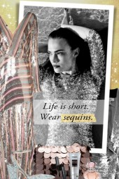 Wear sequins