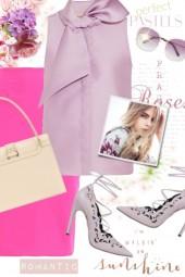 Lavender & Hot Pink
