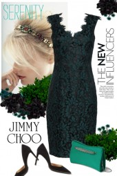 Jimmy Choo bag & shoes