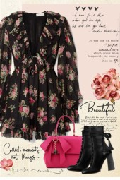 Floral Ruffles and Bows