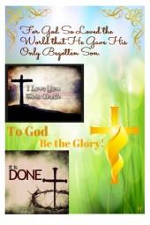 For God So Loved the World.........