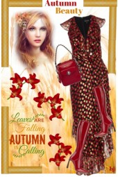 Autumn Beauty--Leaves Are Falling