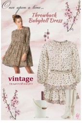Throwback Babydoll Dress