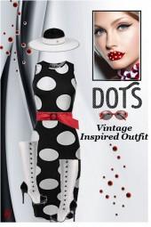 Vintage Inspired Dots