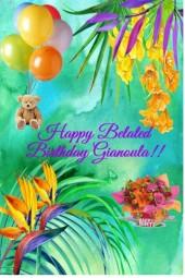 Happy Birthday Gianoula!!