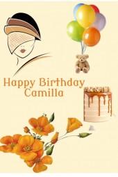 Happy Birthday Camilla!