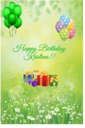 Happy Birthday Kristina!!