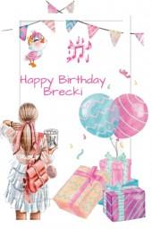 Happy Birthday Brecki