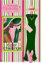 Find Your Fabulosity in Pink and Green