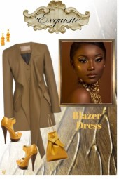 Exquisite Blazer Dress
