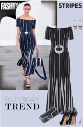 Runway Trend--Stripes