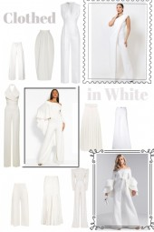 Clothed in White