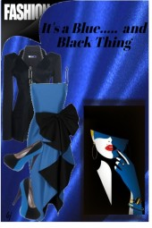 It's a Blue.......and Black Thing