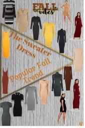 Popular Fall Trend-The Sweater Dress