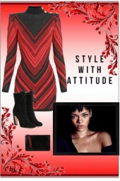 Style with Attitude in Black and Red