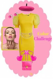 Color Challenge-Yellow and Pink