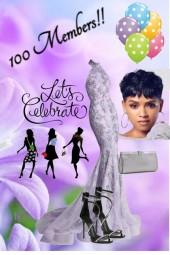 Let's Celebrate--100 Members!!