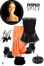 A Black and Orange Fall