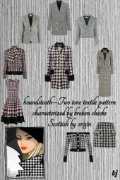 Trendy Houndstooth 2
