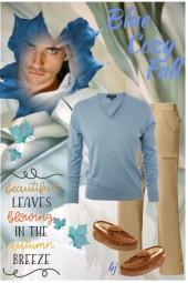 Blue Cozy Fall