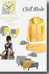 Chill Mode--Yellow and Gray