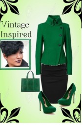 Vintage Inspired Outfit...