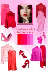 Pantone Colors--Red and Pink