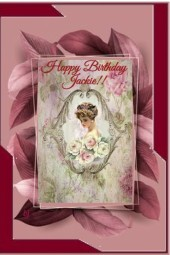 Happy Birthday Jackie!!