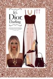 It's Dior, Darling