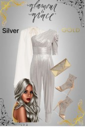 Silver with a Touch of Gold