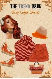 Sexy Ruffle Shorts