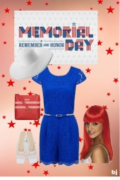 Memorial Day--Remember and Honor