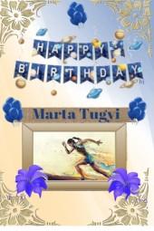 Happy Birthday Marta Tugyi!!