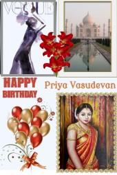 Happy Birthday Priya Vasudevan