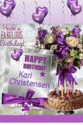 Happy Birthday Kari Christensen!!