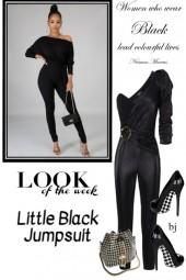 Look of the Week--Little Black Jumpsuit