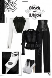 Style Mix-Up--Black and White