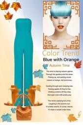 Color Trend--Blue and Orange