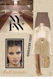NYFW--Sweater Vest